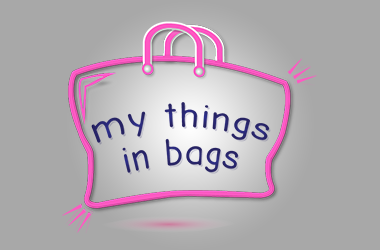 my things in bag