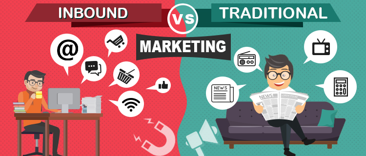 Inbound Marketing Vs. Traditional Marketing<