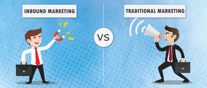 Inbound Marketing vs Traditional Marketing<