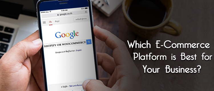 Shopify or WooCommerce web development services<