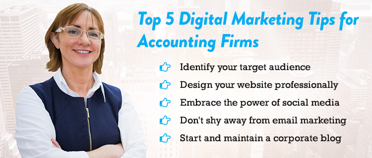 Digital marketing Tips for Accounting Firms<