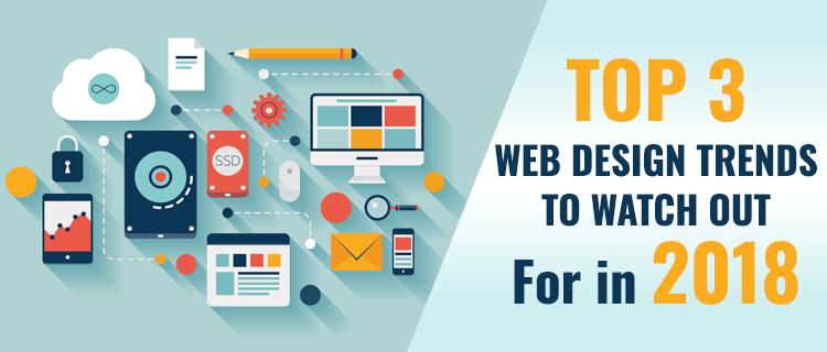 web designing trends 2018<