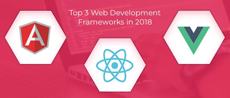 3 Web Development Frameworks <