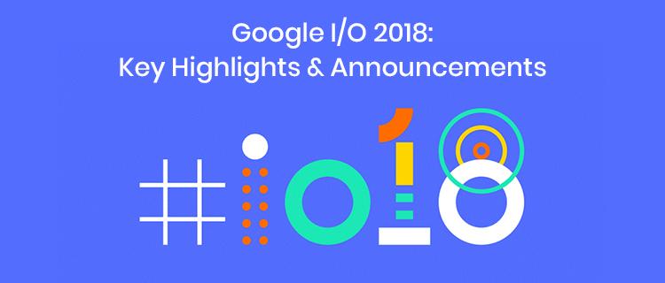 Google I/O 2018 conference<