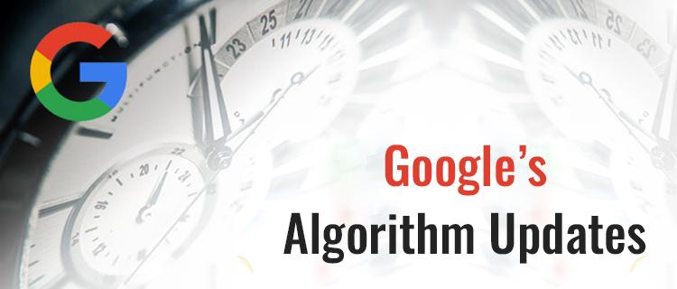 Google Algorithm Updates<